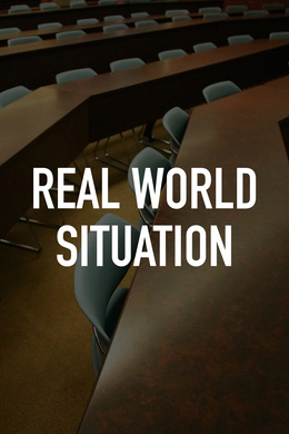 Real World Situation