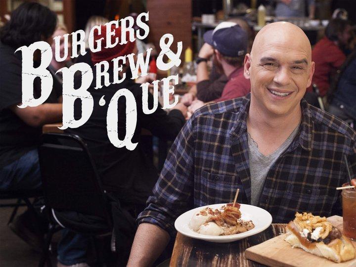 burgers, brew & que