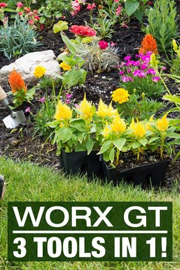 WORX GT - 3 Tools in 1!