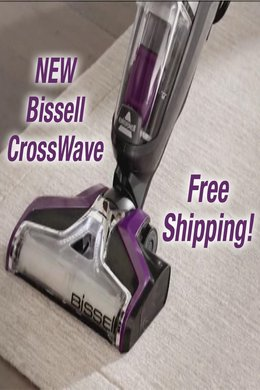 NEW Bissell CrossWave - Free Ship!