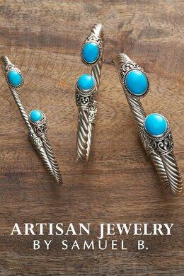 Carved Artisan Jewelry by Sam B