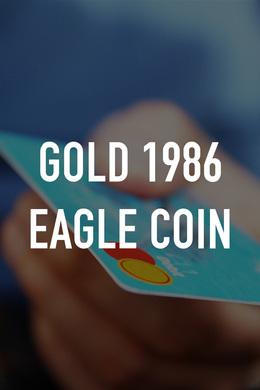 Gold 1986 Eagle Coin