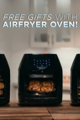Free Gifts with Airfryer Oven!