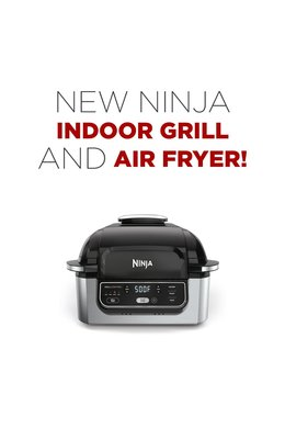 New Ninja Indoor Grill AND Air Fryer!