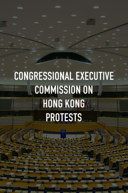 Congressional Executive Commission on Hong Kong Protests