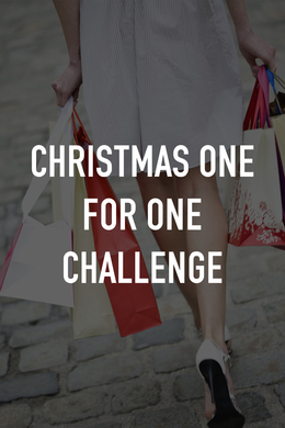 Christmas One for One Challenge