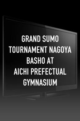 Grand Sumo Tournament Nagoya Basho At Aichi Prefectual Gymnasium
