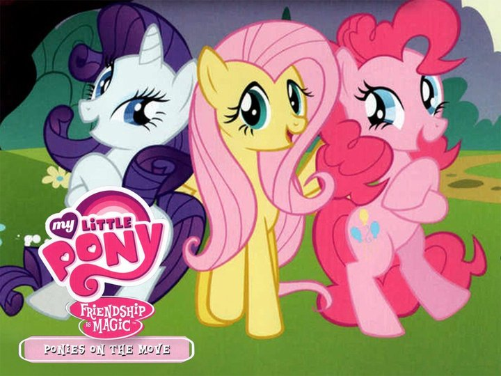 My Little Pony: Friendship is Magic - Ponies on the Move