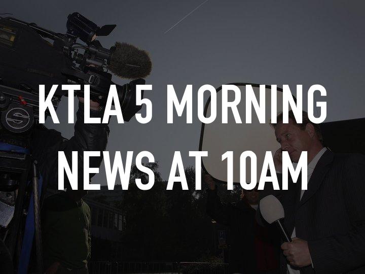 KTLA 5 Morning News at 10am