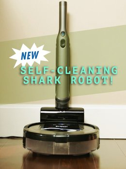 NEW Self-Cleaning Shark Robot!