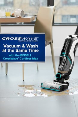 New BISSELL® CrossWave® is Now Cordless