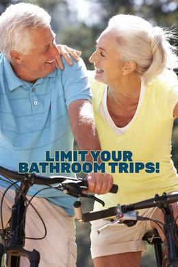 Limit Your Bathroom Trips!