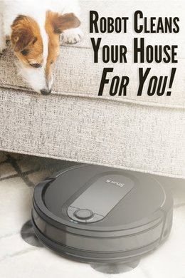 Robot Cleans Your House For You!