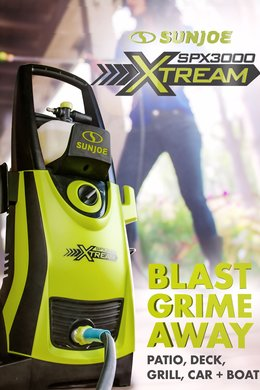 Blast Grime Away: Patio, Deck + More