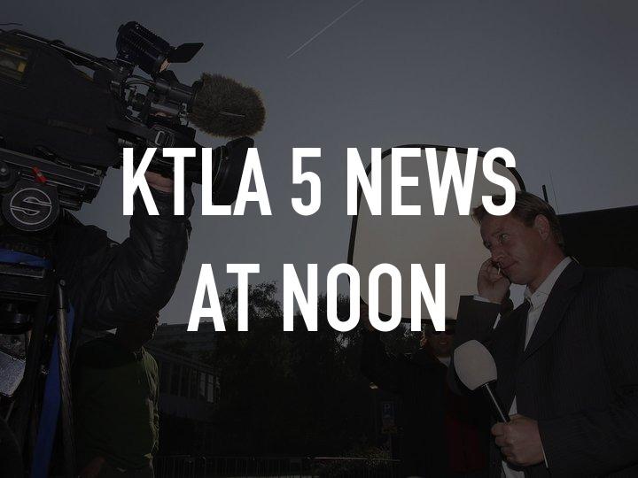 KTLA 5 News at Noon