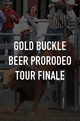 Gold Buckle Beer ProRodeo Tour Finale
