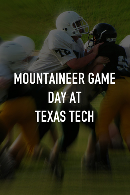Mountaineer Game Day at Texas Tech