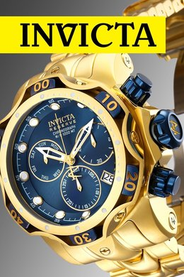 Invicta Watches: Last Call & Limited Ed