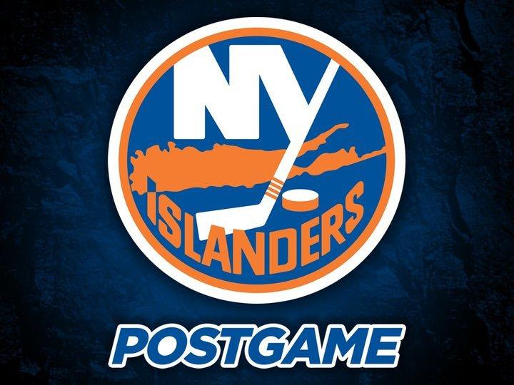 Islanders Postgame